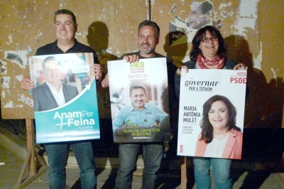 tres candidats