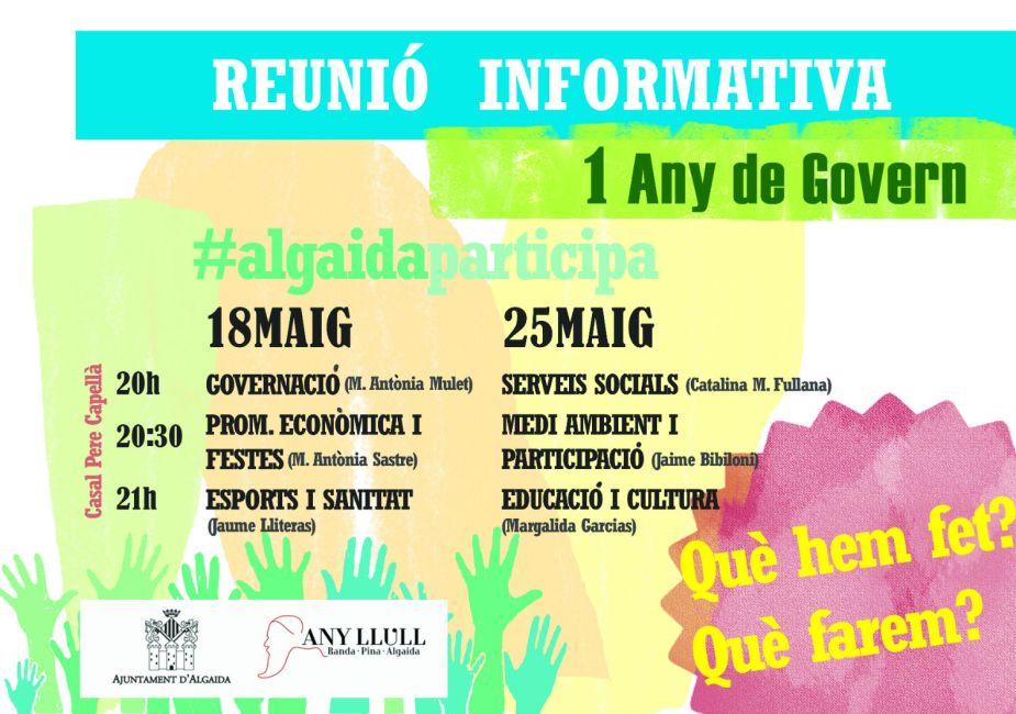 Reunió informativa Audiència Pública Algaida